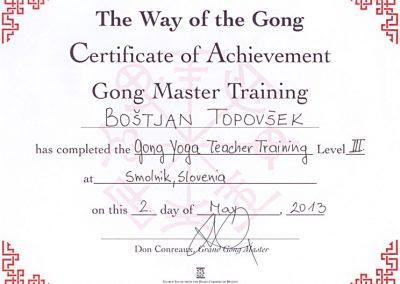 Učitelj Gong joge